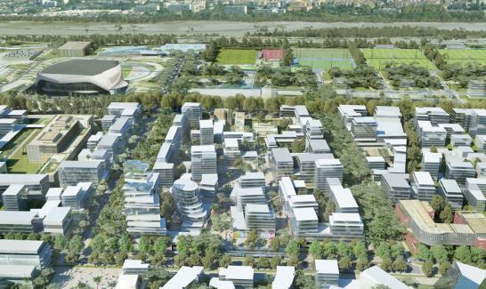 Nice Méridia, une technopole urbaine pour une ville intense © EPA / Devillers & Associés